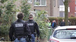 04-03-2015 Leeuwarden - Verwarde Agressieve Man Opgepakt Door Politie