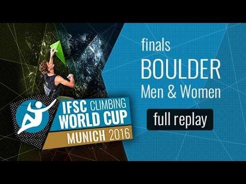 IFSC Boulder World Cup Munich Replay