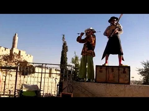 Streetmusic and Artist Jerusalem and Tel Aviv