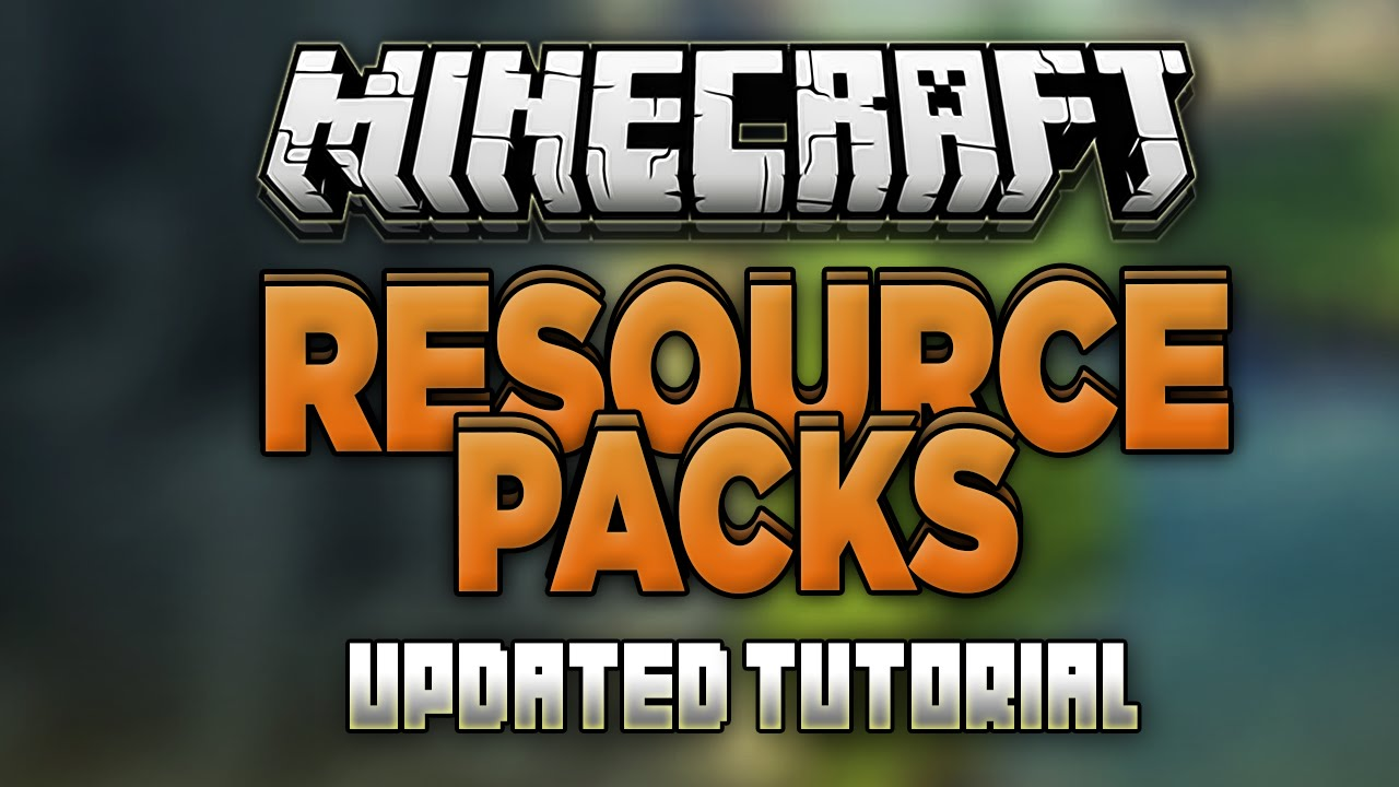 How to Install Resource Packs in Minecraft 1 13 1! (Texture Packs) (Updated)