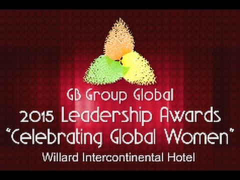 DCN Presents: GB Group Global 2015 Leadership Awards, 3/4/15