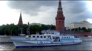 Речная прогулка по Москве-реке 2016. Прогулка на теплоходе по Москве