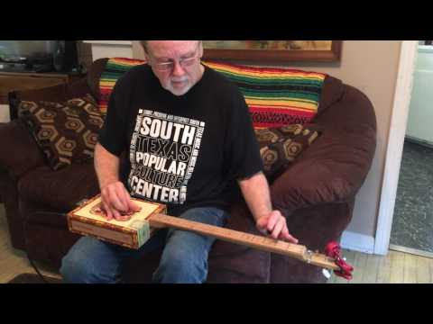 Kirk Otto Finck Cigar Box Guitar test drive Steve Sellers