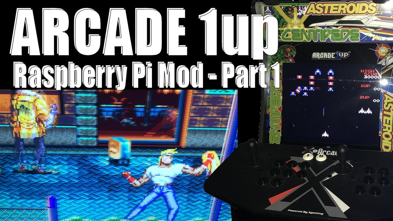 Arcade 1Up - Modding with Raspberry Pi