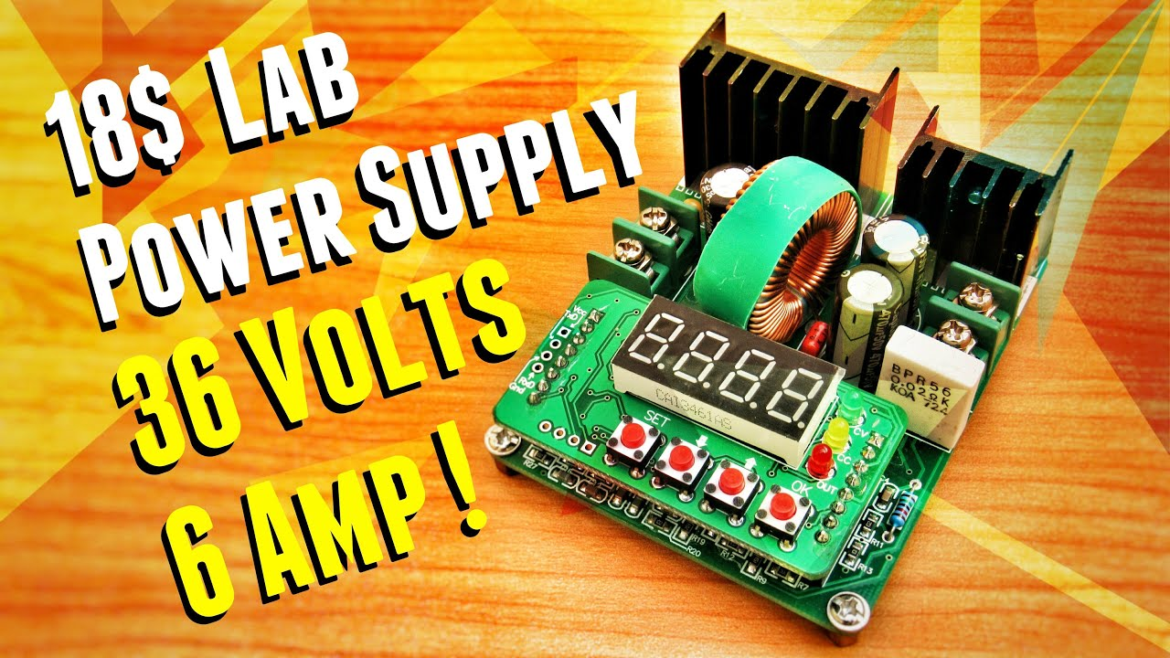 Build Your Own Lab Power Supply