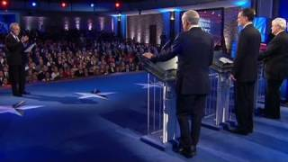 Wolf Blitzer defends question in debate