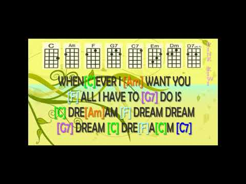 Everyly Brothers All I Have To Do Is Dream Ukulele Play