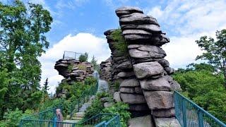 Die Greifensteine im Erzgebirge