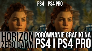 Horizon Zero Dawn - PS4 vs PS4 Pro. 4K 60fps