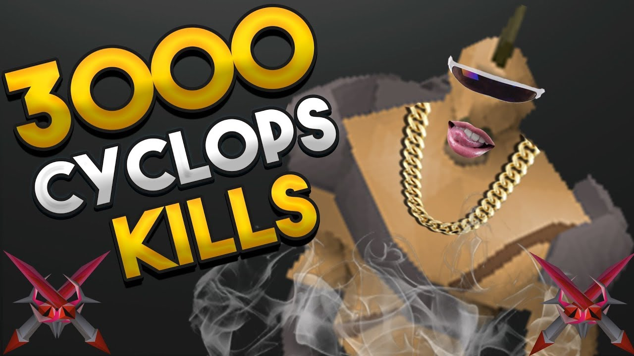 Repeat Loot From 3,000 Cyclops by MrNoSleep OSRS - You2Repeat