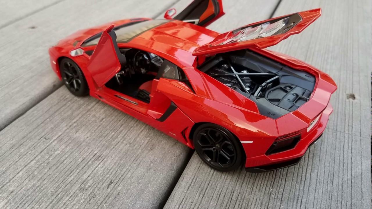 Lamborghini Aventador Maisto 1 18 Youtube