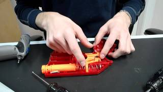 How To: The ULTIMATE Nerf Scout IX-3 Mod Tutorial (AR Removal and Brass Barreling)