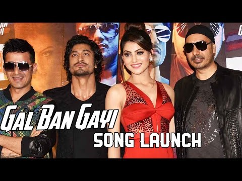Urvashi Rautela & Vidyut Jamwal At 'Gal Ban Gayi'...