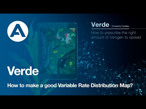 How to make a good Variable Rate Distribution Map?  | Verde