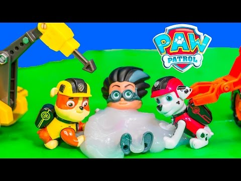 PAW PATROL Nickelodeon Rubble and Marshall Mission Vehicles with PJ Masks Romeo