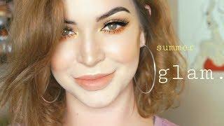 SUMMER GLAM MAKEUP☀️ GRWM | stillglamorus