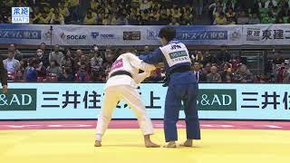 柔道グランドスラム東京 女子57kg級 2回戦 ルハグヴァトゴーvs山本杏