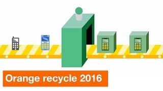 Orange Recycle – Programme de collecte et de recyclage des mobiles avec Emmaüs International !