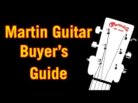 Martin Guitar Buyer's Guide