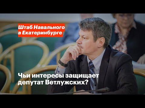 Чьи интересы защищает депутат Ветлужских?