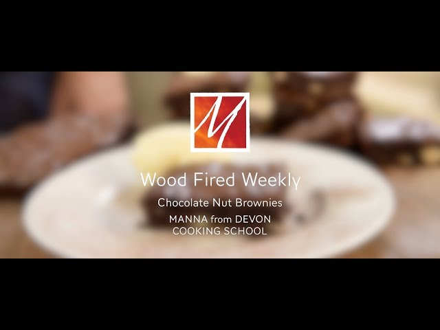 Manna from Devon's Woodfired Chocolate Brownies