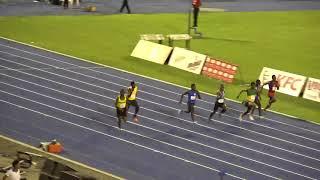 Digicel Grand Prix 2018 Boys U20 100m