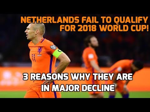 Arjen Robben Retires From Netherlands | 3 Reasons Why They Are In Major Decline