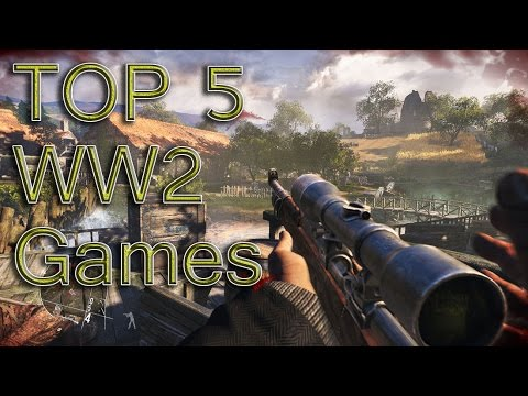 My Top 5 Ww2 Games Youtube