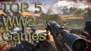 My Top 5 Ww2 Games