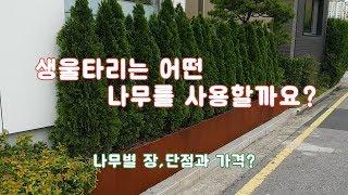 생울타리 정보 영상~  /정원/조경/나무울타리/