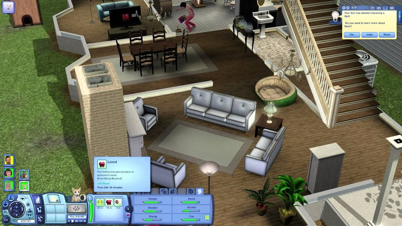 Sims  Free Move Build Mode