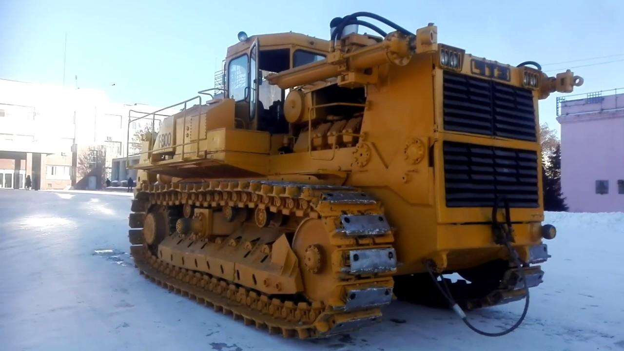 трактор Т 800: технические характеристики, видео трактора в работе