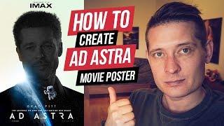 Wie Das Erstellen Von Ad-Astra-Plakat In Photoshop - Tutorial