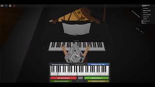 Kiss the Rain (Roblox Piano Sheet) Pt.1