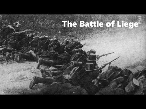 The Battle of Liege