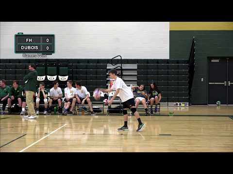 Forest Hills Boys' Varsity Volleyball vs Dubois High School