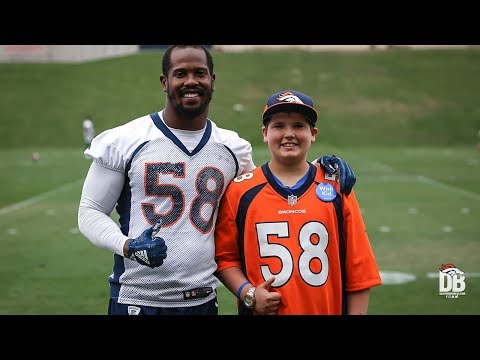 TJ's Make a Wish: A day in the life of Von Miller