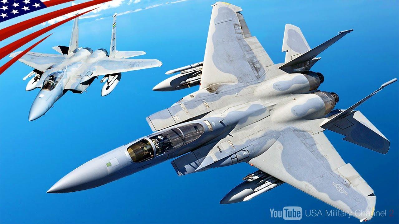 """最強ファイター F-15イーグル】空中戦 """"不敗"""" のベテラン戦闘機 - YouTube"""