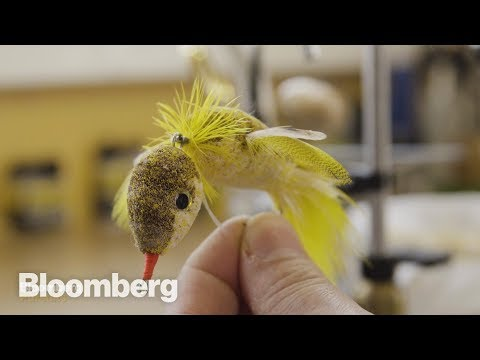 How Handmade Fishing Lures are Crafted