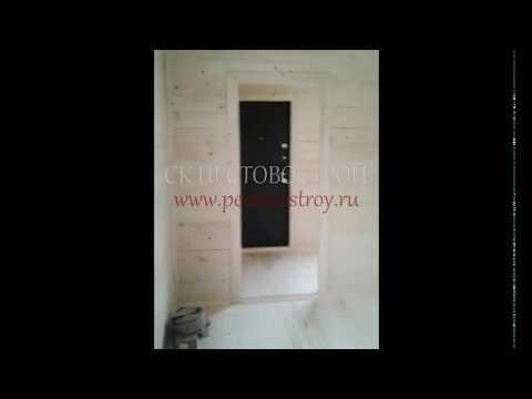 Брусовой дом под ключ - дома без посредников из Новгородской области - Пестово.