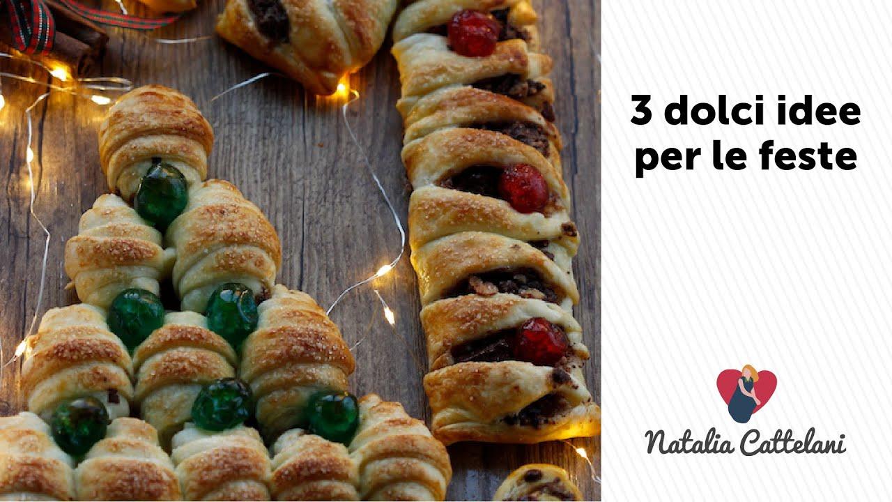 3 IDEE DOLCI PER NATALE | Ricetta veloce con pasta sfoglia ...