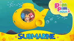 PIMPIM AQUA : SUBMARINE SONG (핌핌아쿠아 : 잠수함편) Kids song | Sing & Dance | kindergarten | baby song