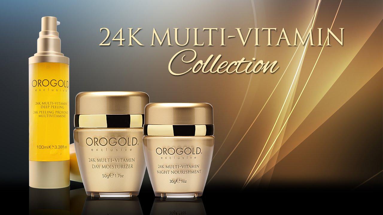 orogold 24k multi vitamin collection youtube