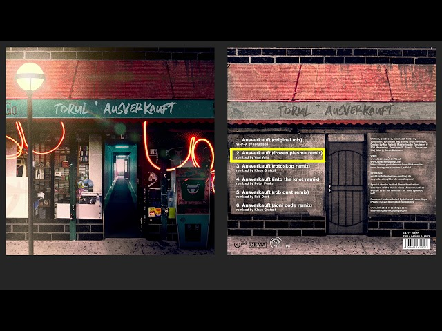 TORUL—Ausverkauft (Frozen Plasma Remix)