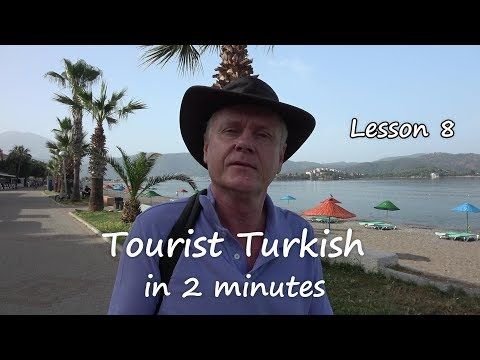 Turkish in 2 minutes  Lesson 8