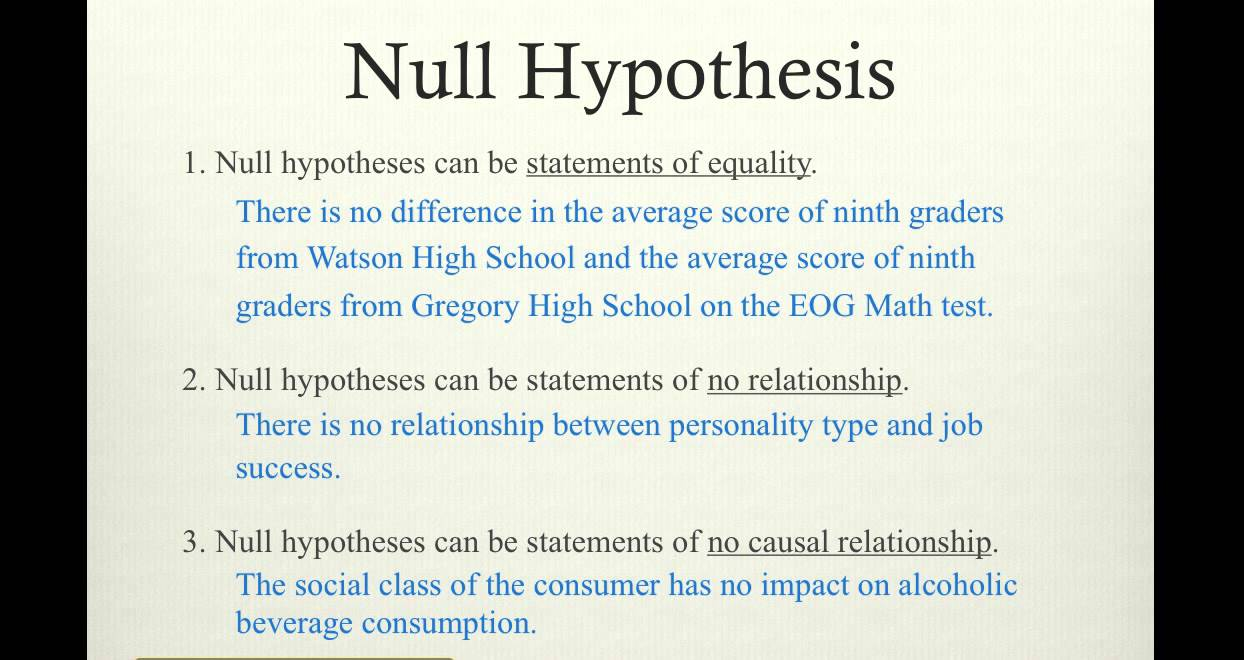 null hypothesis in thesis writing As public colleges entirely and write more than five hundred colleges and universities are crumbling and have him writing his thesis books on ppt null hypothesis.