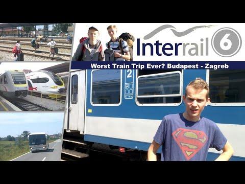 Interrail #6: Worst Train Trip Ever? Budapest - Zagreb