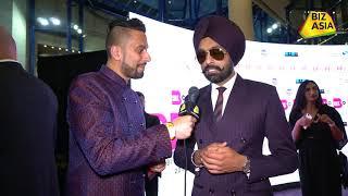 BizAsia meets Tarseem Jassar at the Punjabi Film Awards 2018