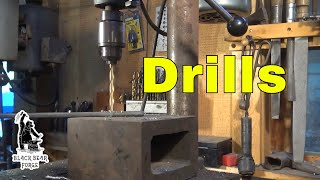 Drill presses and hand drills tool of the day
