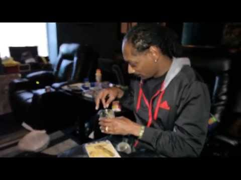Snoop Dogg rollin up Dr. Zodiak's MoonRocks while playing unrealeased song w/ Pharrell moon rock